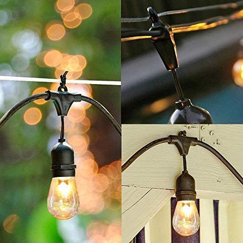 SUNTHIN of Lights x Hanging Loops, x 0.9 -Indoor/Outdoor String Lights, String Lights, Light Strings