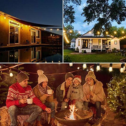 Salking Outdoor Lights, Waterproof Garden Wedding Party Christmas