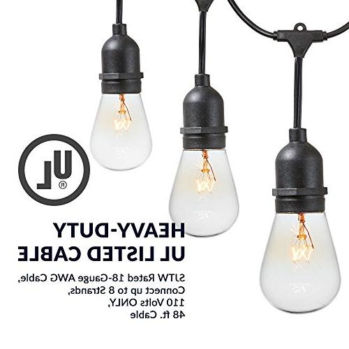 Newhouse Lights with Sockets | Incandescent 48-foot