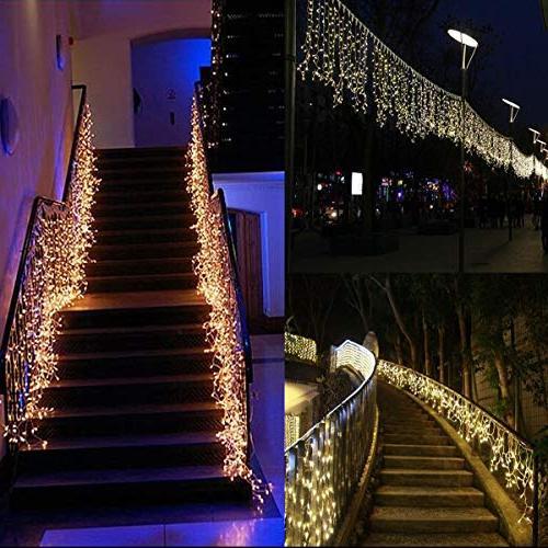 Vinsco String in LED ft/30M Lighting for Bedroom Indoor Home Kids Xmas White