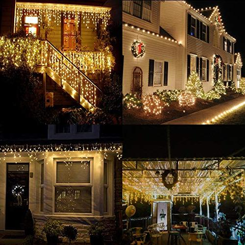 Vinsco Lights, in 100 ft/30M Bedroom Patio Indoor Outdoor Home Christmas Xmas Tree Holiday White