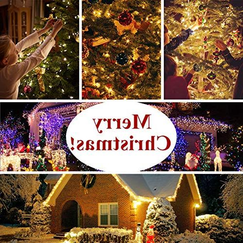 LED Lights Powered LED Fairy, Warm Starry Control, Waterproof Copper Decorative Lights Bedroom, Christmas, House & Yard