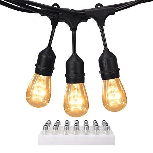 string lights commercial grade ul