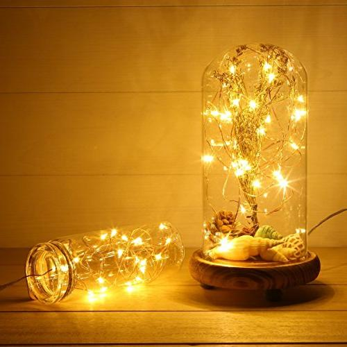 LED String 10Ft/3M 30leds Firefly String Lights Home Wedding Decorations Crafting Battery