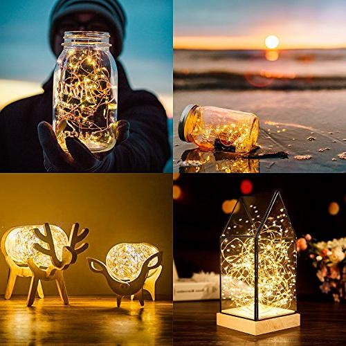 LED 10Ft/3M String Lights Home Party Wedding Festival Decorations Crafting Battery Operated
