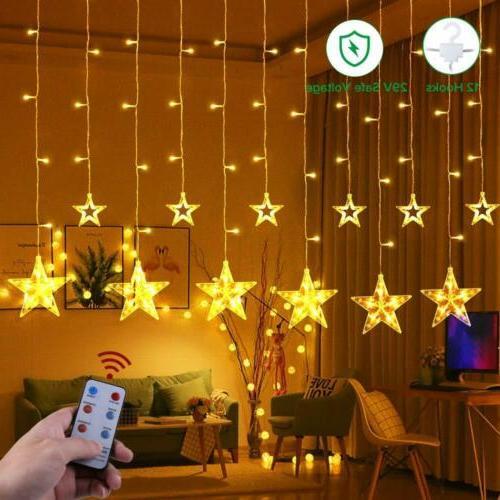 string lights with 12 stars 108 leds