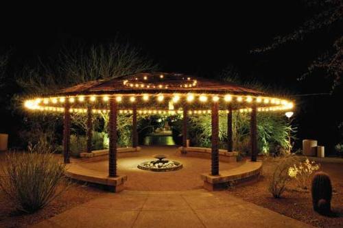 Bulbrite STRING15/E26-S14KT Patio, Wedding, Lawn, Light w/Incandescent 15 Lights