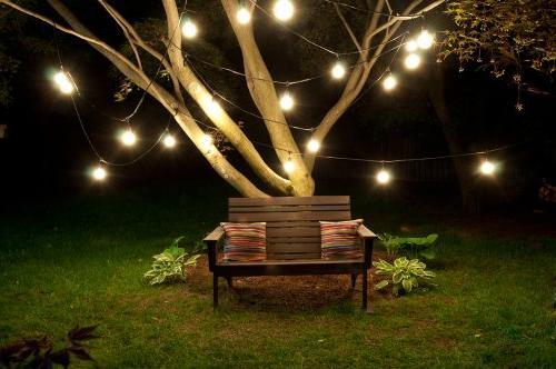 Bulbrite STRING15/E26-S14KT Patio, Wedding, Party, Lawn, Landscape String Light w/Incandescent 15 Lights