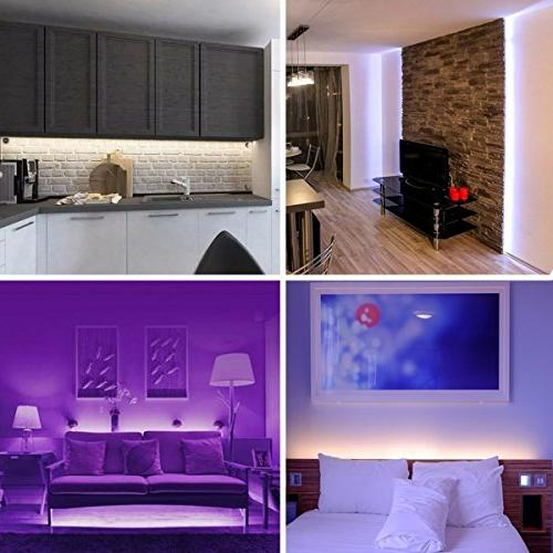 Led Light Waterproof 600leds Flexible Color Changing SMD Strip 44 IR Remote Controller and 5A Power