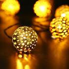 American Vintage Style 10 ft Decorative LED String Lights Ro