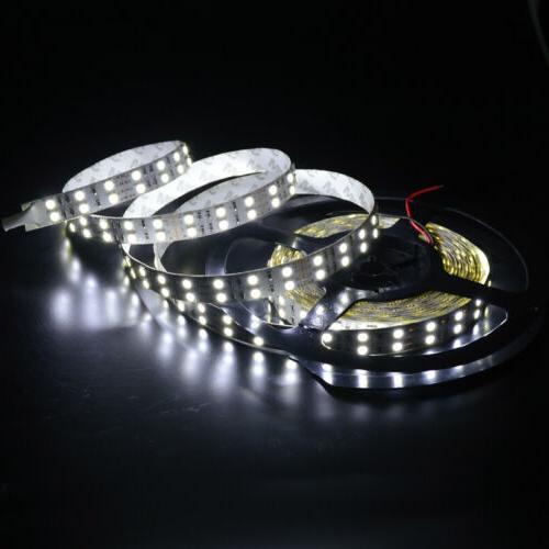 5M Super Bright Cool White LED Strip DC12V 144W 600LEDs SMD5