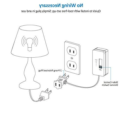 Switch Lights, Bulbs, Full Range Slide Cord, UL