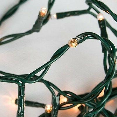 Darice Teeny 20 Clear Rice Bulbs Deco Lights Holiday / Chris