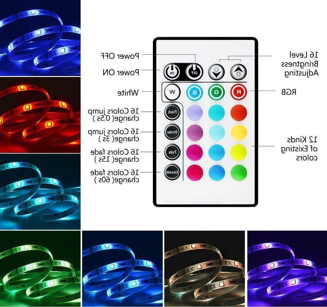 LED Powered USB LED Strip Lights for 32 to 60 HDTV Bias
