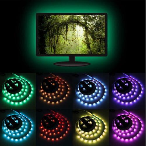 TV LED Backlight USB 5050 Light Remote 30Leds/M