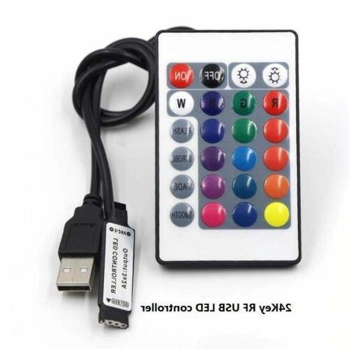 TV LED USB RGB Light Remote 30Leds/M
