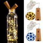 US 20 LED Warm Wine Bottle Cork Shape Lights Night Fairy Str