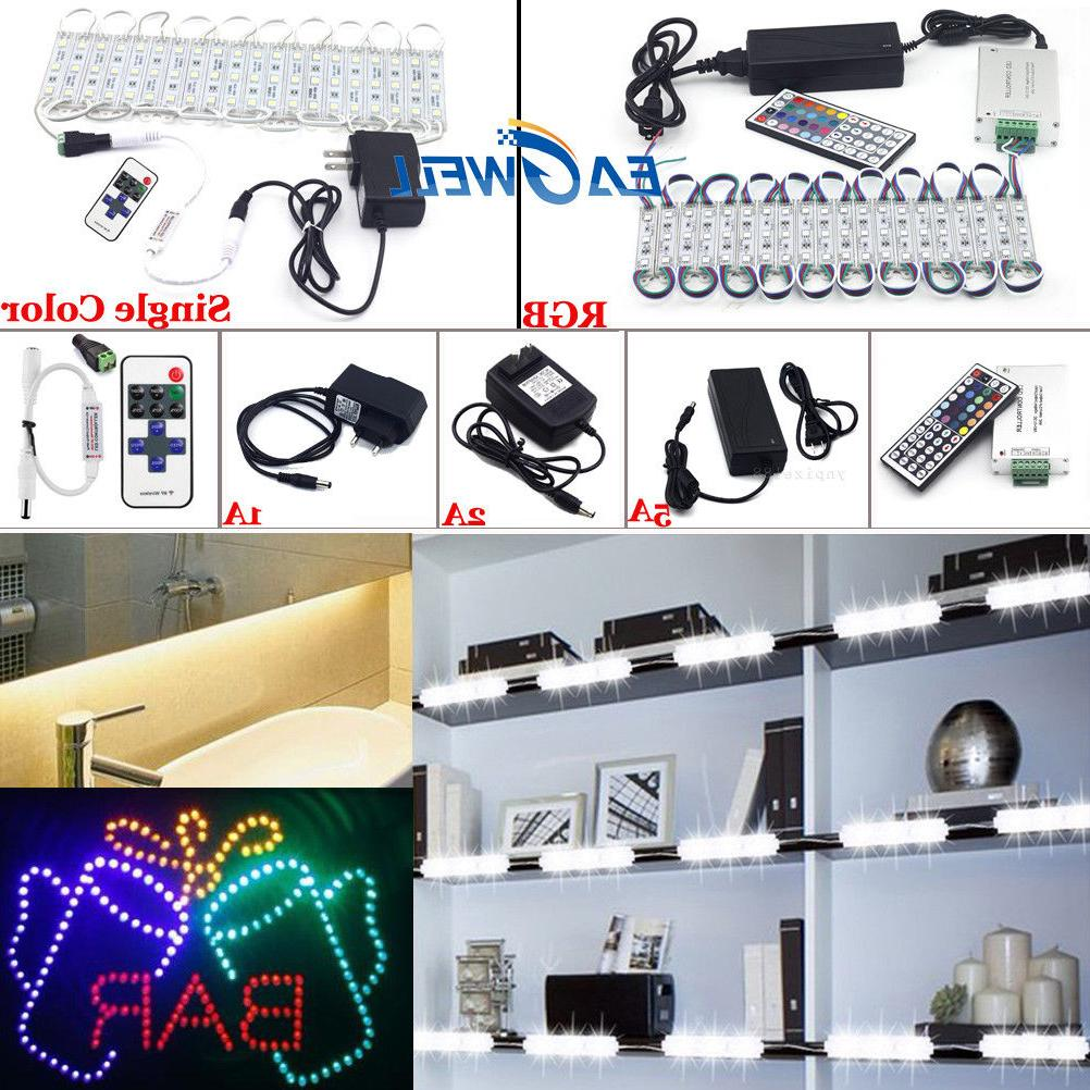 US Store Front LED Light Module with US power supply + Remote