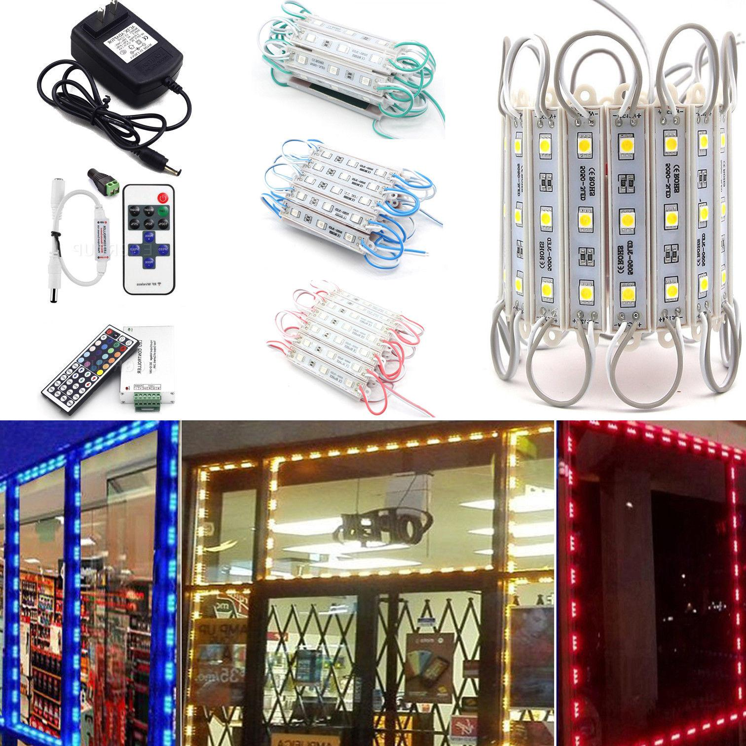 US Brightest Front LED Window Light with supply +