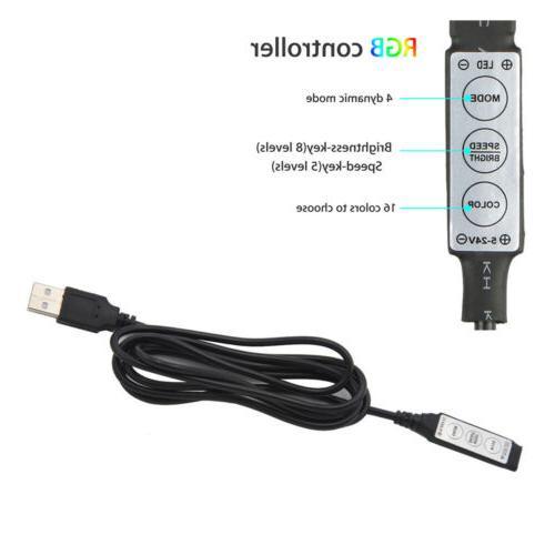 USB 5V LED RGB Light Changing Light Kit
