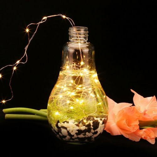 USB 5V Party Lamp 2M/5M/10M String Silver 9 Colors