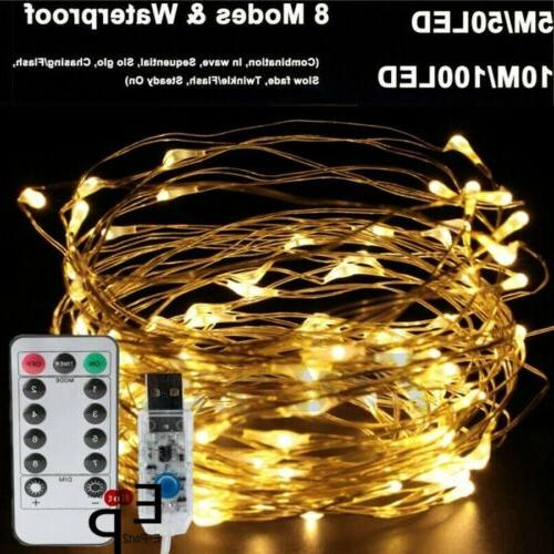 USB Fairy Lights Copper Party