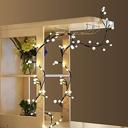 YMING Lights, 8.3Ft Led Starry Lights, Indoor Outdoor Lights Plug in for Garden Warm White