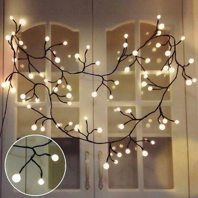 vine shaped bedroom string lights