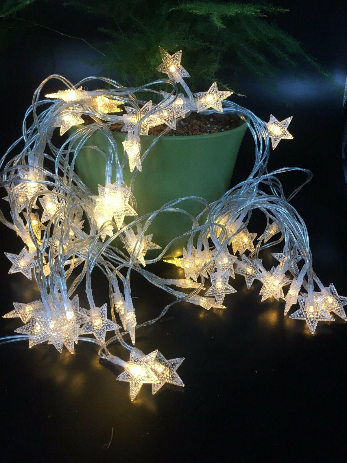 Warm Christmas Decor Star Fairy