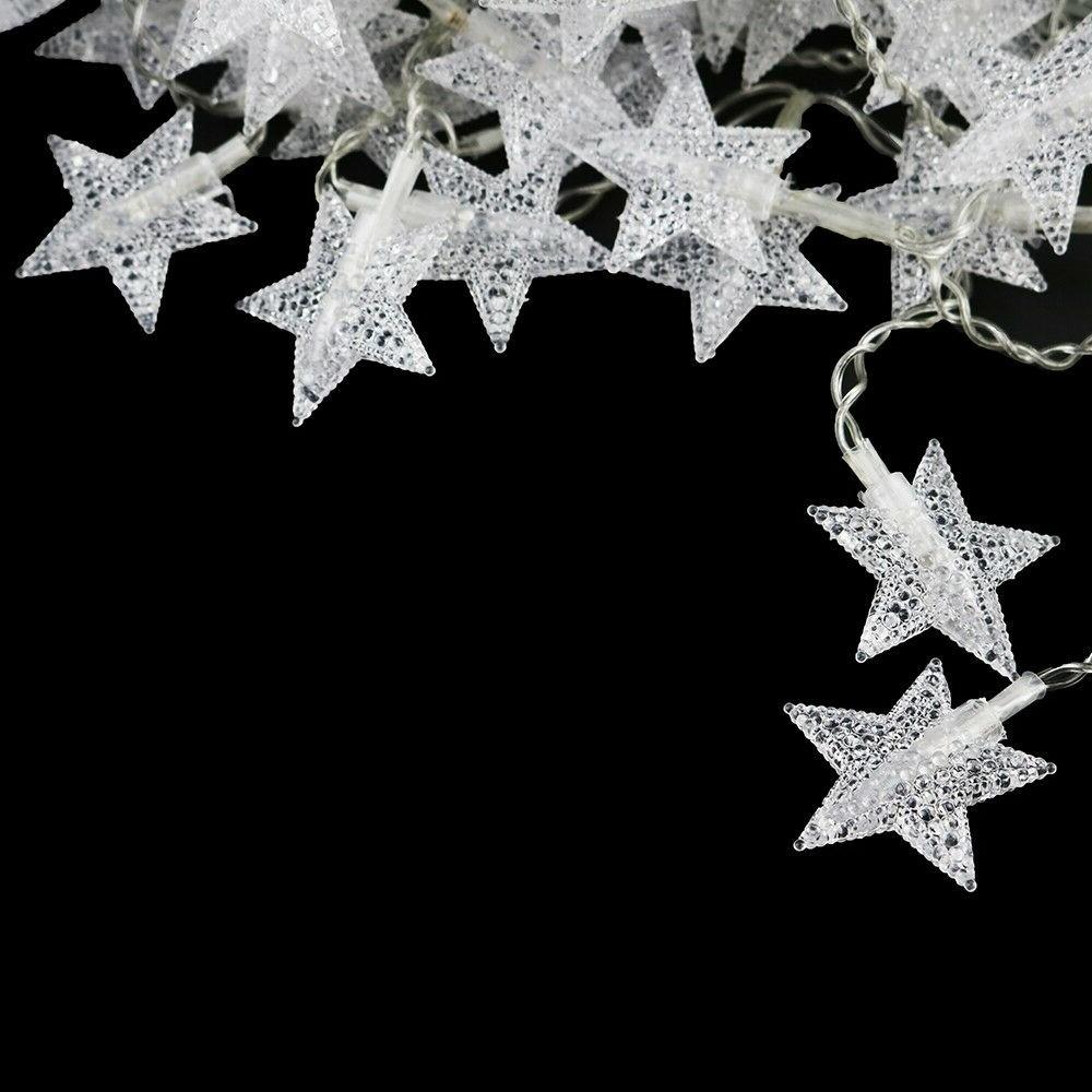 Warm White Indoor Christmas Party Star