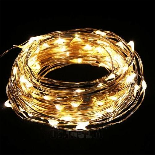 Warm 100LED Copper Wire Decoration