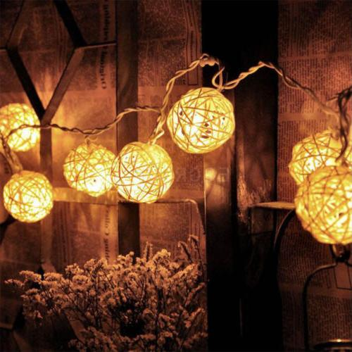 Warm Fairy String Wedding Party Outdoor Decor Lamp
