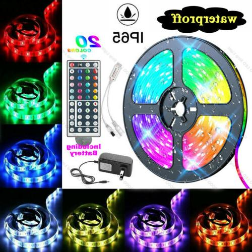 waterproof 5m led strip light rgb 5050