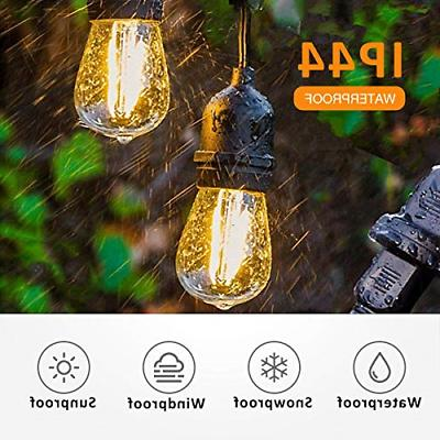 VICOODA Waterproof LED String Lights 15 x and 16 x