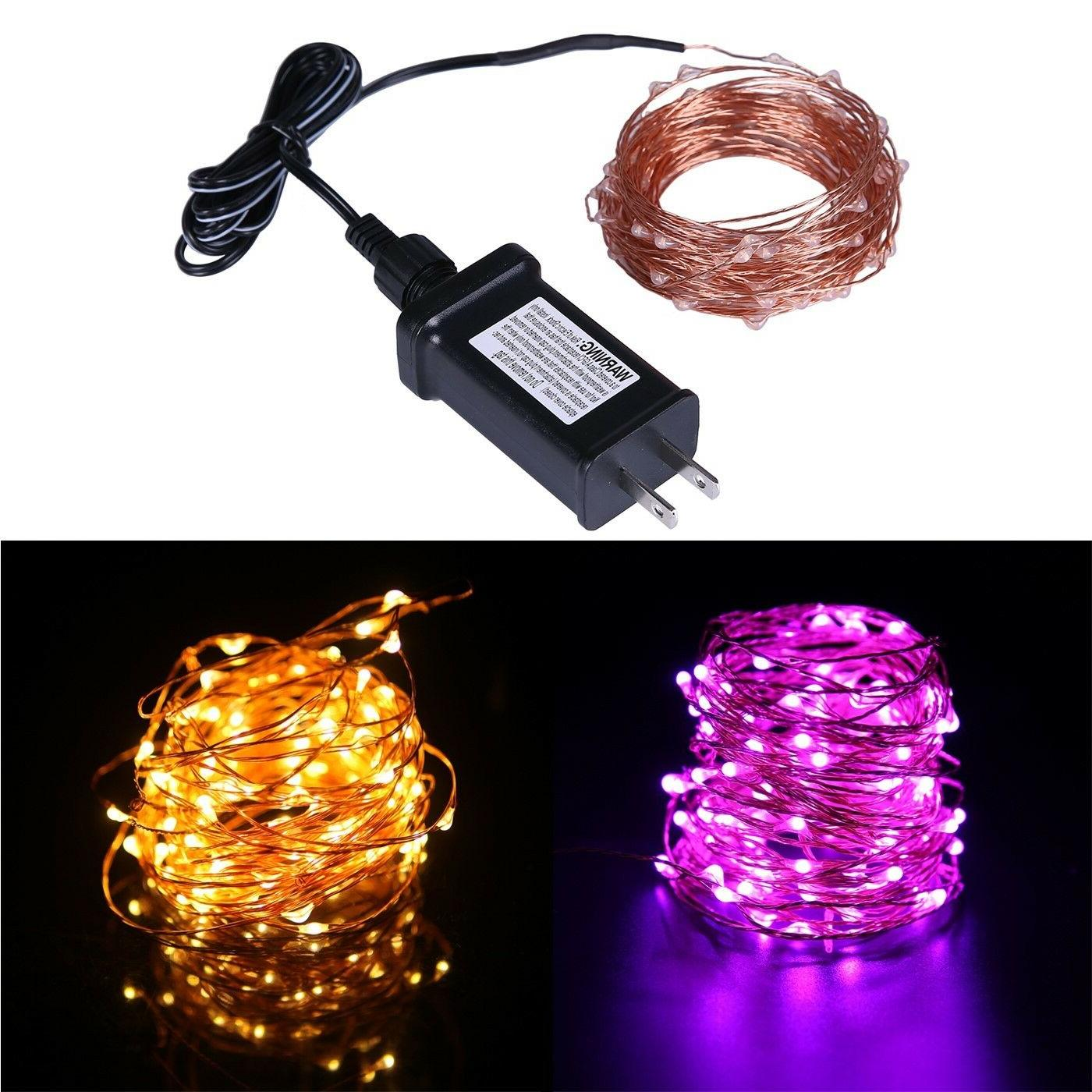 waterproof led string lights indoor outdoor lighting