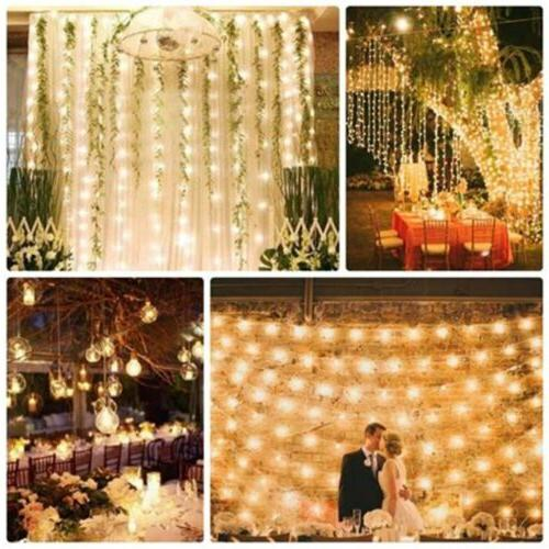 Waterproof String Fairy Lights Christmas Wedding