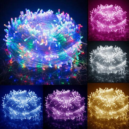 waterproof string fairy lights 100 500 led