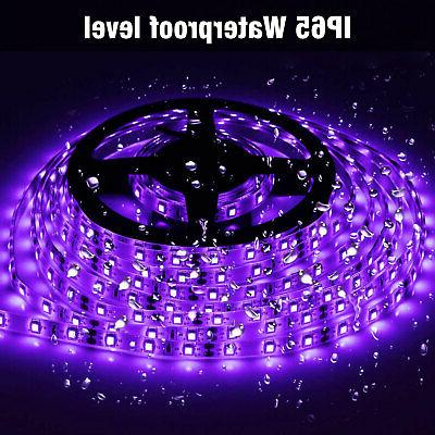 Waterproof Light 16.4Ft/5M 3528 60LEDs/M Flexible