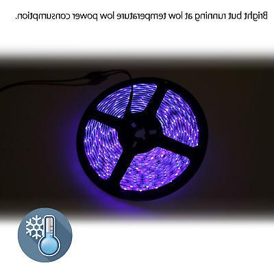 Waterproof UV Light Strip 16.4Ft/5M 60LEDs/M