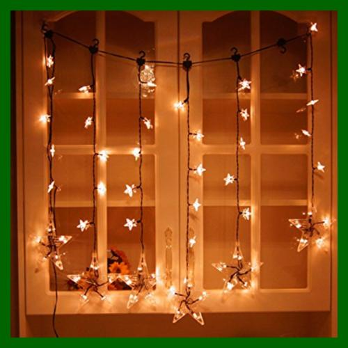 Window Curtain String For Bedroom W Hook Indoor Party Patio