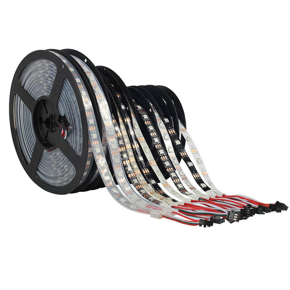WS2812B LED 5050 RGB 30/60/144 IC Individual Addressable DC5V