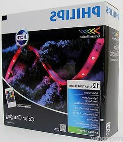 Philips LED 12 ft Flat Rope Light 8 Color Choices Wireless R