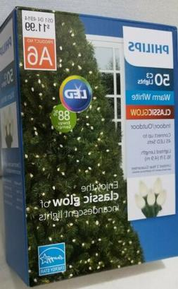 C3 Led Christmas Lights.Philips Led 50 C3 Warm White String Lights