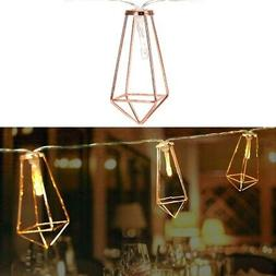 LED Antique Iron String Lights Xmas Decoration Lights Fairy