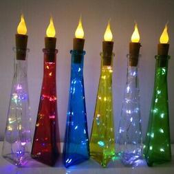 LED Bottle Lights Cork Shape Lights for Wine Bottle Starry S