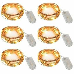 Accmor Led Fairy String Lights, Firefly Outdoor Lights, Seas