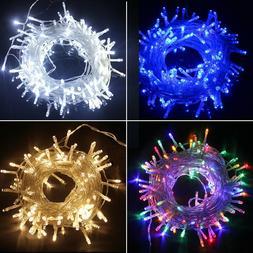 LED Fairy String Lights Waterproof Outdoor Garden Xmas 10M-2