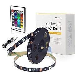 LED Light Strip 18ft for TV 65 to 82inch,WENICE tv Backlight