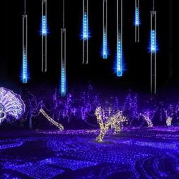 LED Meteor Shower Lights Outdoor Falling Rain Drop Icicle St
