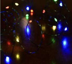 Celebrations LED Multi Big Seed Micro LED Light String 420 C